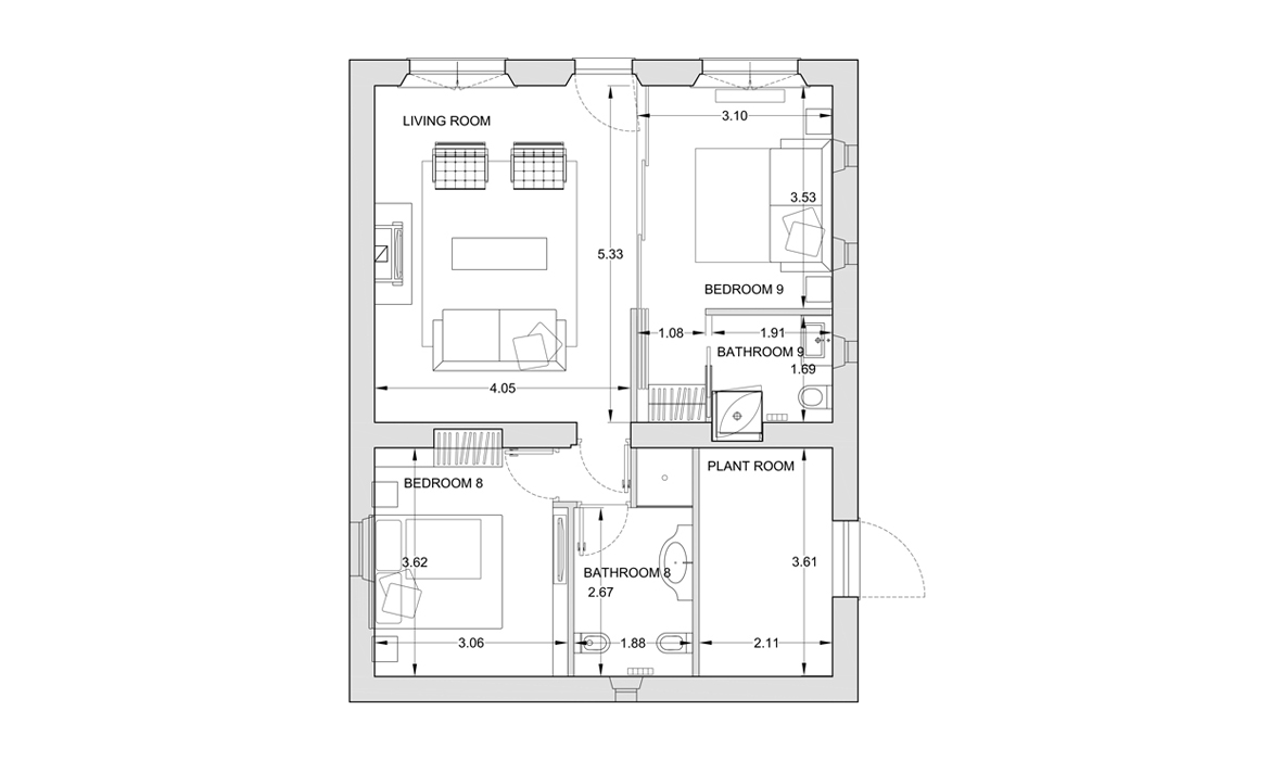 Annex floor plan (click to expand)